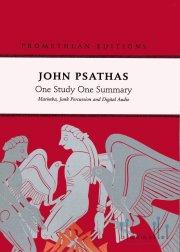 Psathas , John - One Study One Summary (スコア・パート譜セット) (特価品)