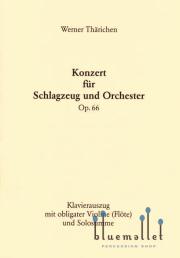 Tharichen , Werner - Konzert fur Schlagzeug und Orchester (ピアノ伴奏版) (スコア・パート譜セット)