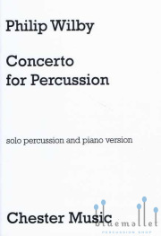 Wilby , Philip - Concerto for Percussion  Piano Version  (スコア・パート譜セット) (特価品)