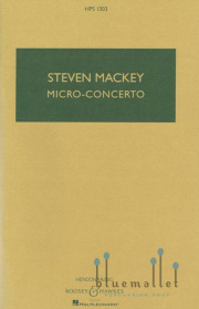 Mackey , Steven - Micro-Concerto for Percussionist and Mixed Quintet (スコアのみ)