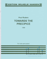 Runders , Poul - Towards the Precipice for Solo Percussion (特価品)