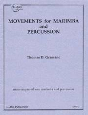 Grassano , Thomas - Movements for Marimba and Percussion (特価品)