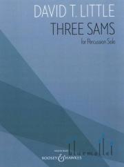 Little , David T. - Three Sams for Percussion Solo