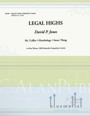 Jones , David P. - Legal Highs (スコア・パート譜セット)