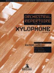 Carroll , Raynor - Orchestral Repertoire for the Xylophone Volume II (特価品)