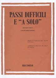 Torrebruno , Leonida - Passi Difficili e a Solo per Percussion (特価品)