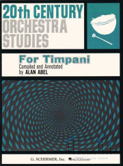 Abel , Alan - 20th Century Orchestra Studies for Timpani