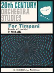 Abel , Alan - 20th Century Orchestra Studies for Timpani