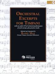 Max , Randy - Orchestral Excerpts for Timpani