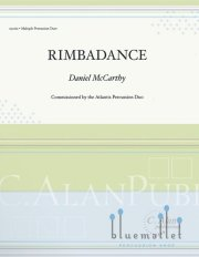 McCarthy , Daniel - Rimbadance for Marimba & Percussion (スコアのみ2部セット) (特価品)