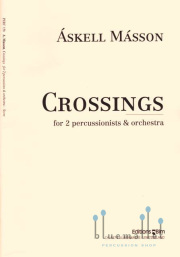 Masson , Askell - Crossings for Percussionists & Orchestra (オーケストラ伴奏版 / スコアのみ) (特価品)