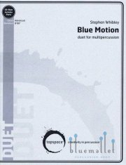Whibley , Stephen - Blue Motion for Percussion Duo (スコアのみ) (特価品)