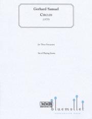 Samuel  , Gerhard - Circles (スコアのみ3部セット) (特価品)