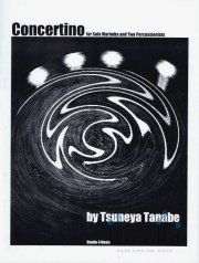 Tanabe , Tsuneya - Concertino for Solo Marimba and Two Percussionists (スコア3冊セット) (特価品)