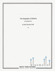 Smith , Stuart Saunders - The Geography of Streams (パート譜のみ) (特価品)