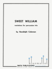 Coleman , Randolph - Sweet William (スコアのみ) (特価品)