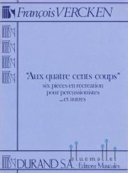 Vercken , Francois - Aux Quatre Cents Coups (スコアのみ)
