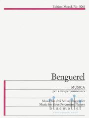 Benguerel , Xavier - Musica (スコア・パート譜セット)