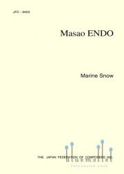 Endo , Masao - Marine Snow (スコアのみ)