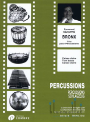 Sejourne , Emmanuel - Bronx Trio pour Percussions (スコア・パート譜セット) (特価品)
