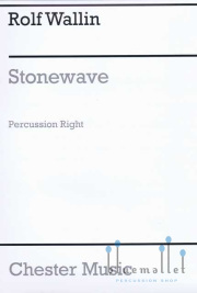 Wallin , Rolf - Stonewave for 3 Percussionists (アンサンブル版パート譜のみ)