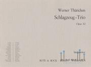 Tharichen , Werner - Schlagzeug-Trio Opus 52 (スコアのみ)