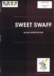 Martynciow , Nicolas - Sweet Swaff (スコア・パート譜セット) (特価品)