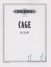 Cage , John - Four 4 (パート譜のみ) (特価品)