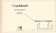 Constable , Robert C - Crackhead Percussion Quartet with Piano Solo (スコア・パート譜セット) (特価品)