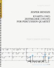 Hendze , Jesper - Kvarts / Zeitbilder (スコアのみ) (特価品)