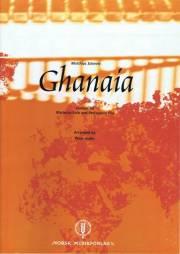 Schmitt , Matthias - Ghanaia Version for Marimba Solo and Percussion Trio arr. Peter Sadlo (アンサンブル版) (スコア・パート譜セット)