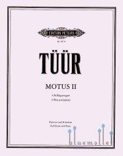 Tuur , Erkki Sven - Motus II (スコア・パート譜セット) (特価品)