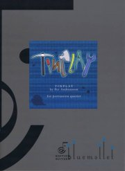 Andreasson , Per - Tinplay for Percussion Quartet (スコア・パート譜セット) (特価品)