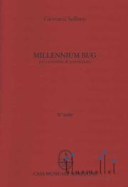Sollima , Giovanni - Millennium Bug for Percussion Quartet (スコア・パート譜セット)