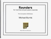 Burritt , Michael - Rounders for Marimba and Percussion Ensemble (スコア・パート譜セット)