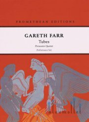 Farr , Gareth - Tubes Percussion Quartet (パート譜のみ)