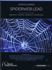 Silverman , Adam - Spiderweb Lead for Percussion Quartet  (スコア・パート譜セット) (特価品)