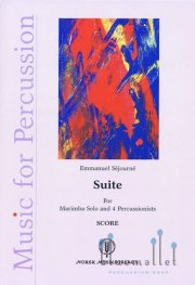 Sejourne , Emmanuel - Suite for Marimba and 4 Percossionists (スコアのみ)