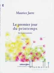 Jarre , Maurice - Le Premier Jour du Printemps for 6 percussions (スコア・パート譜セット) (特価品)