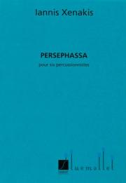 Xenakis , Iannis - Persephassa pour six percussionistes (スコアのみ)