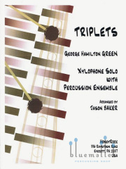 Green , George Hamilton - Triplets (スコア・パート譜セット)