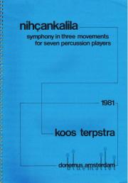 Terpstra , Koos - Nihcankalila  (スコア・パート譜セット) (特価品)