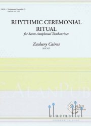Cairns, Zachary - Rhythmic Ceremonial Ritual (スコア・パート譜セット) (特価品)