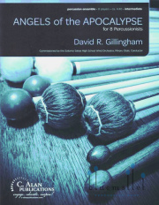 Gillingham , David R. - Angels of the Apocalypse (スコア・パート譜セット)