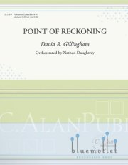 Gillingham , David R. - Point of Reckoning (スコア・パート譜セット)