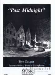 Gauger , Tom - Past Midnight for 10 Percussion (スコア・パート譜セット)(特価品)