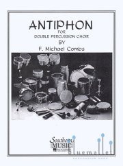 Combs , F.Michael - Antiphon for Double Percussion Choir (スコア・パート譜セット)