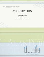 Stamp , Jack - Vociferation (スコア・パート譜セット)