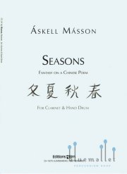Masson , Askell - Seasons, Fantasy on a Chinese Poem for Clarinet & Hand Drum