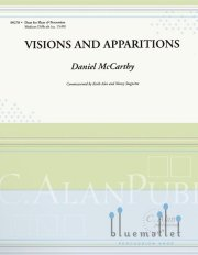 McCarthy , Daniel - Visions and Apparitions (スコアのみ2部セット)